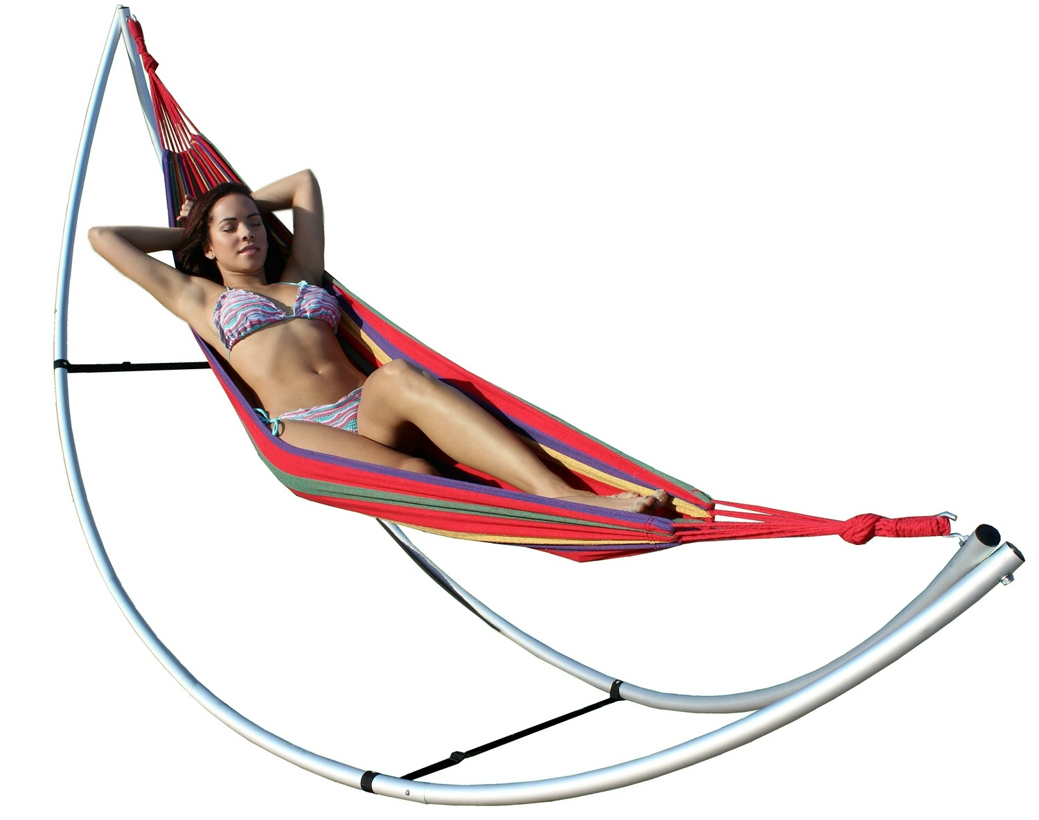 stand products hammocks up with cotton hammock wedo double
