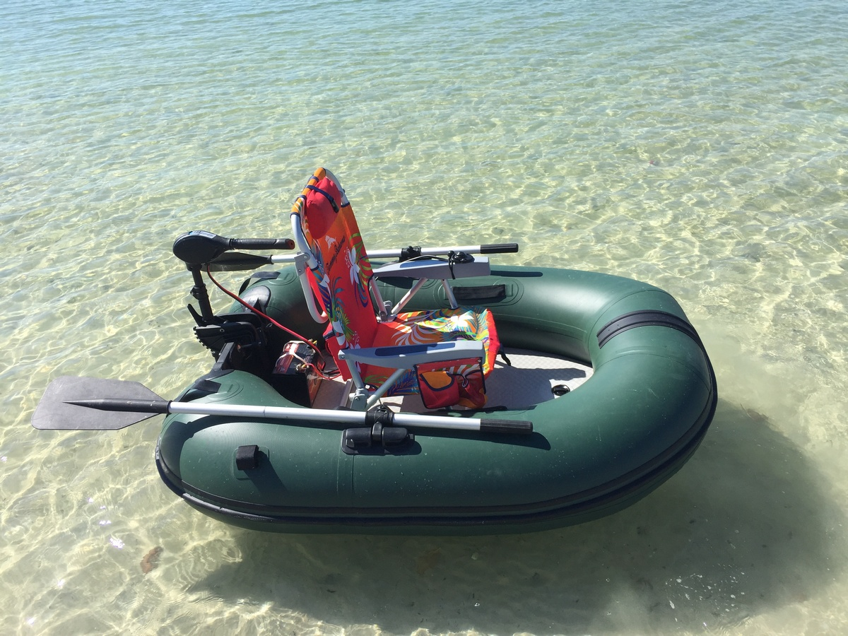 Portable motoraft inflatable fishing boat for Inflatable fishing boats