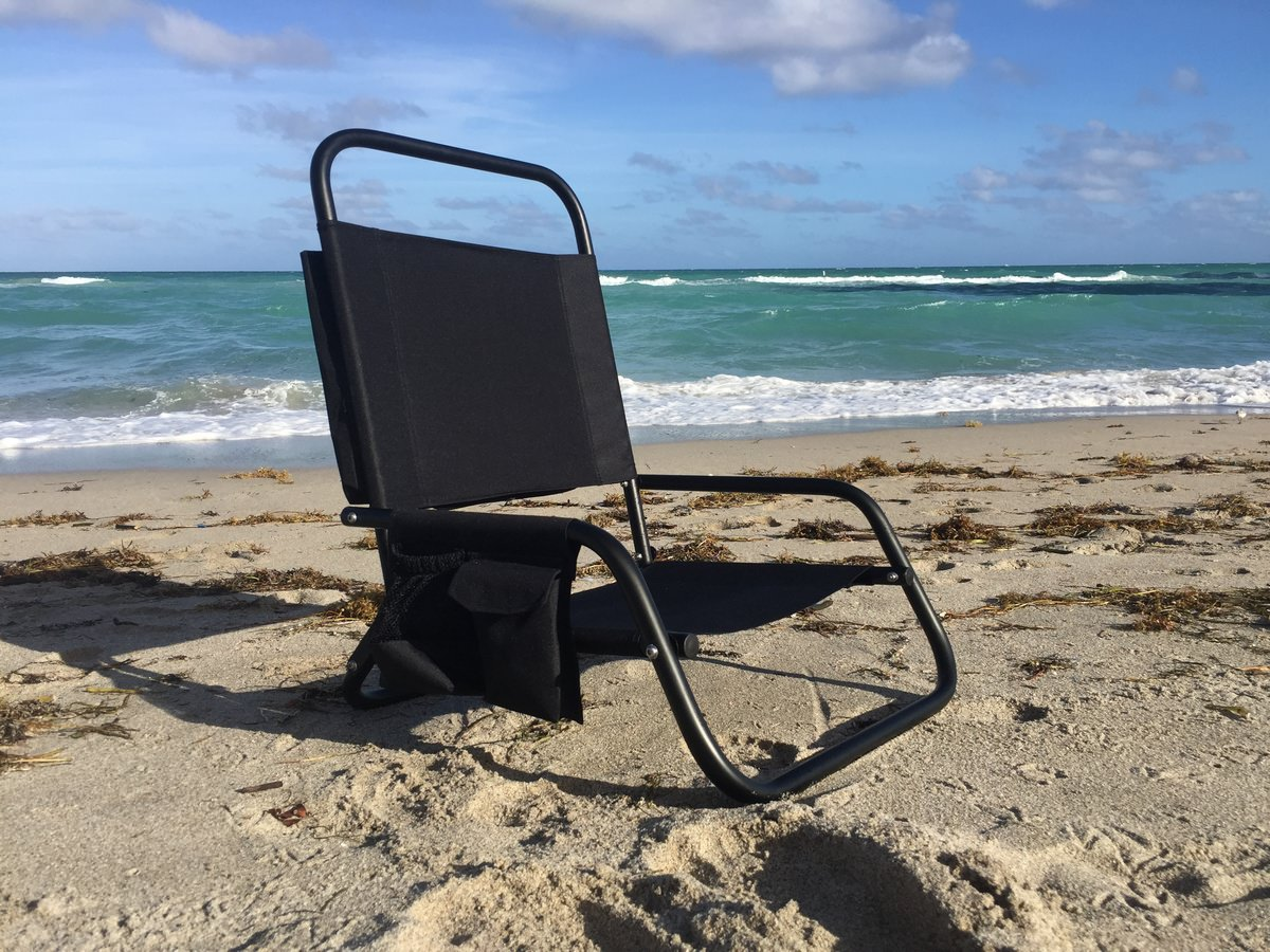 Aluminum Folding Beach Chair Paddle Board Kayak Seat – Deluxe Beach Chairs