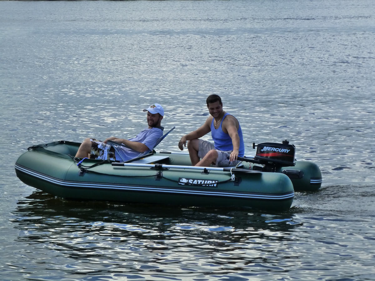 Extra-Wide Inflatable Fishing Boat SD330W. Only $1029.