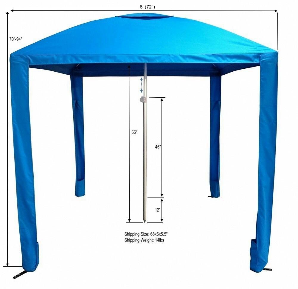 Beach Cabana Tent Amp Beach Cabana Tent Umbrella Sc