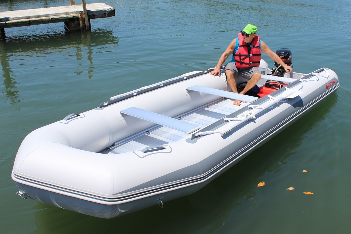 16.4' Budget Inflatable Boat From Saturn SD500