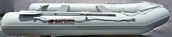 Saturn Light Gray Extra Wide 11' SD330W Inflatable Boat.