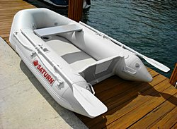 Saturn SD230 Inflatable Boat Dinghy Raft. Click to zoom in.