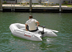 Saturn 8.6' Inflatable Boat Dinghy Raft Tender. Click on image to zoom in.