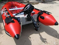 Saturn 12' SD365 Inflatable Boat Dinghy. Click to zoom in.