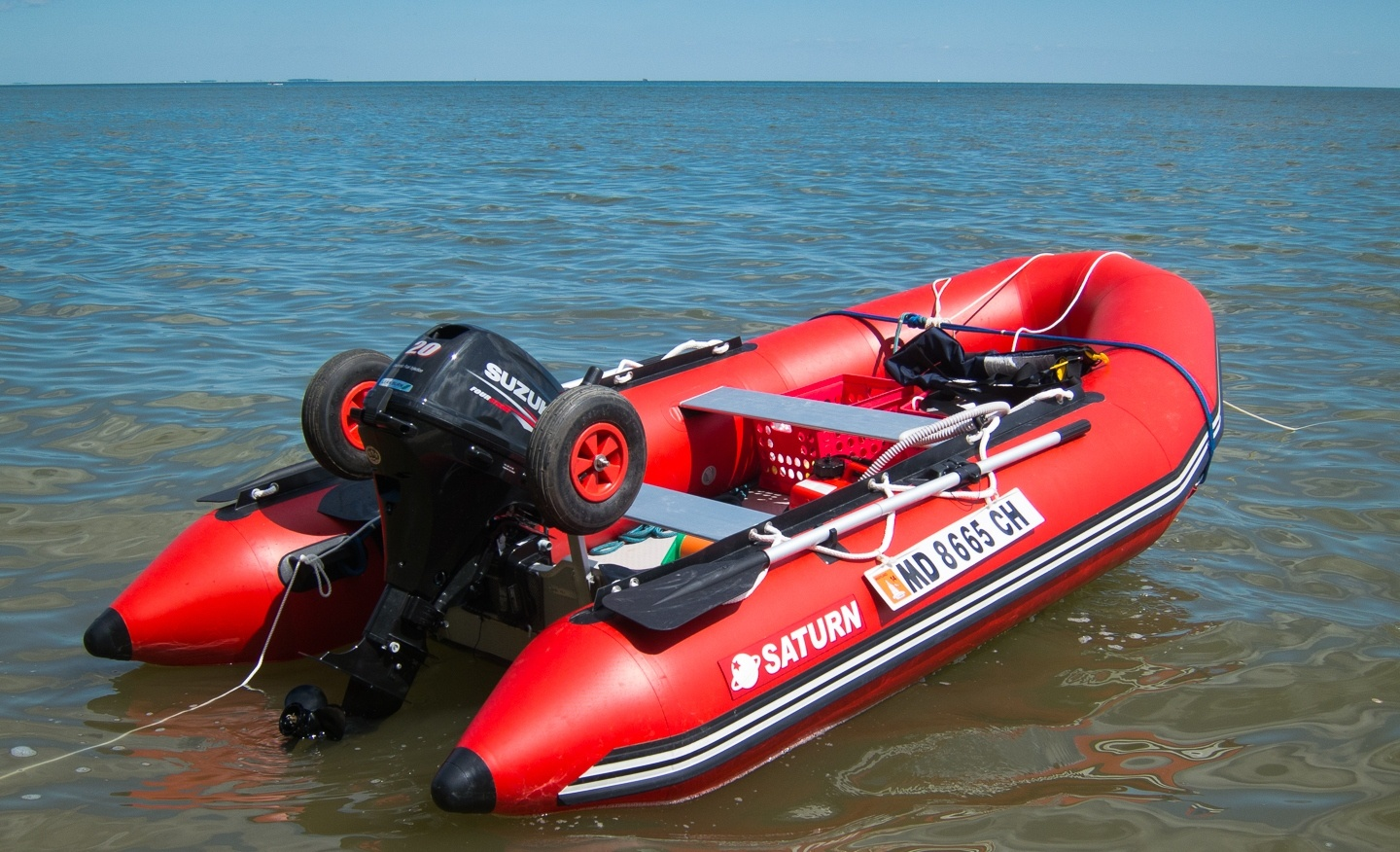 Saturn 12 Inflatable Sport Runabouts Are Largest Boats