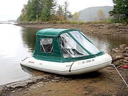 14 Inflatable Boats Bimini Sun Rain Shade Dome Or