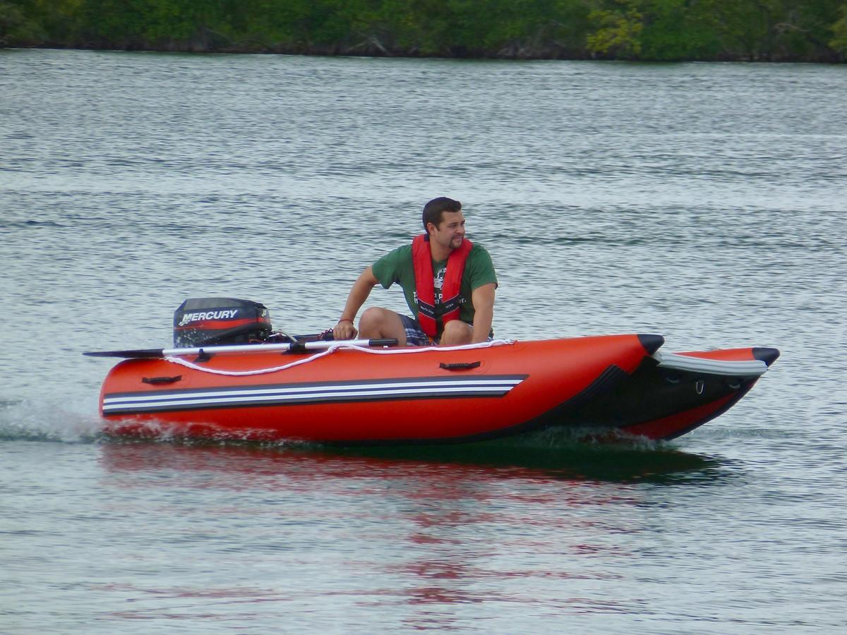 Unique Inflatable Motor Catamaran Inflatable Sport Boat