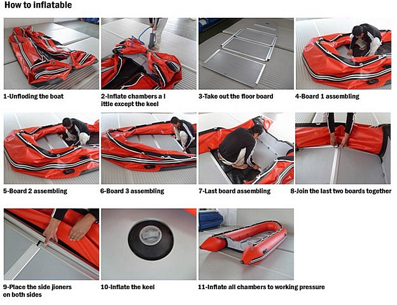 Questions answers inflatable boats with plywood floor assembly steps click to zoom in ccuart Choice Image