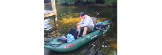 Customer's review of Saturn Fishing Kayak