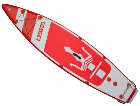 Saturn Inflatable MotoSUP Paddle Board