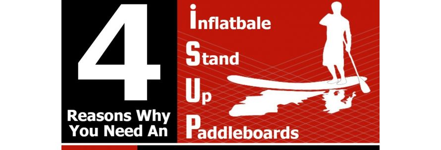 Infographic - 4 Reasons Why You Need Inflatable Stand Up Paddle Board - iSUP