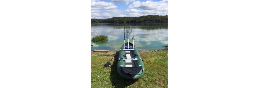 Saturn Inflatable Fishing Kayak