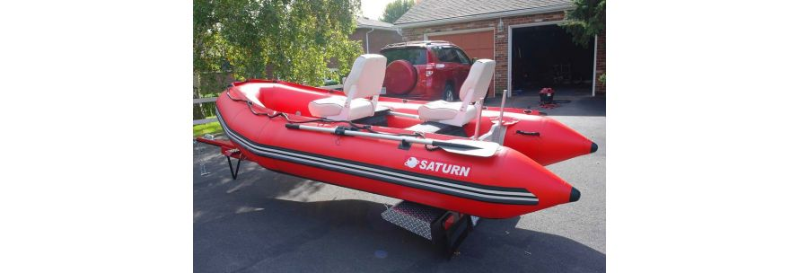 Saturn SD365 inflatable boat