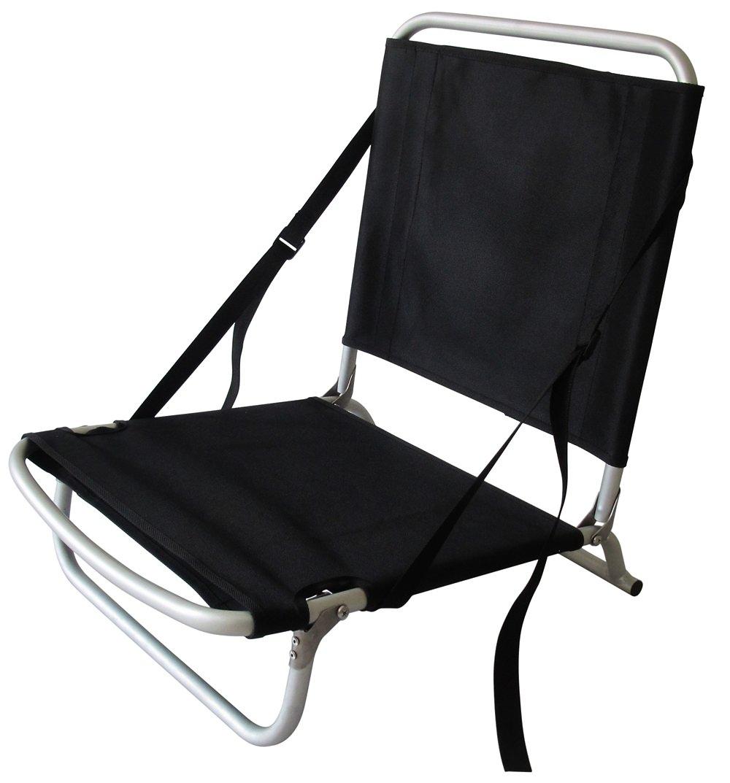 Folding beach chair sup kayak seat for Kayak fishing seats