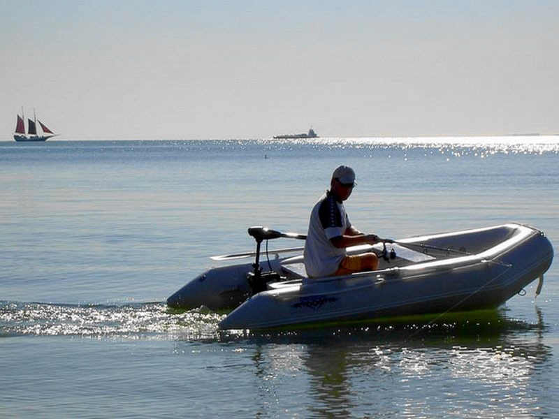 Saturn Inflatable Boats Are Great With Electric Trolling