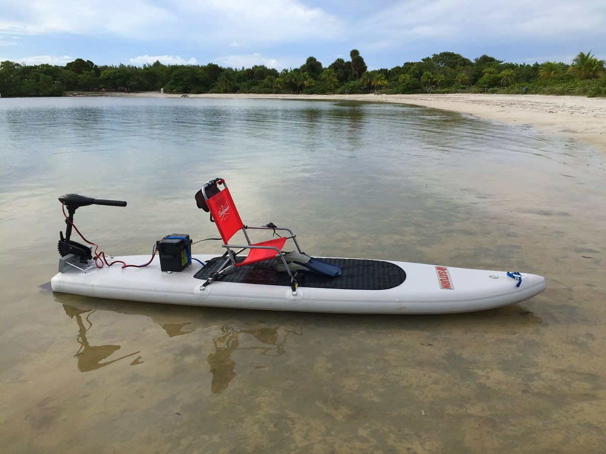 Motosup motorized inflatable sup paddle board for Inflatable fishing paddle board