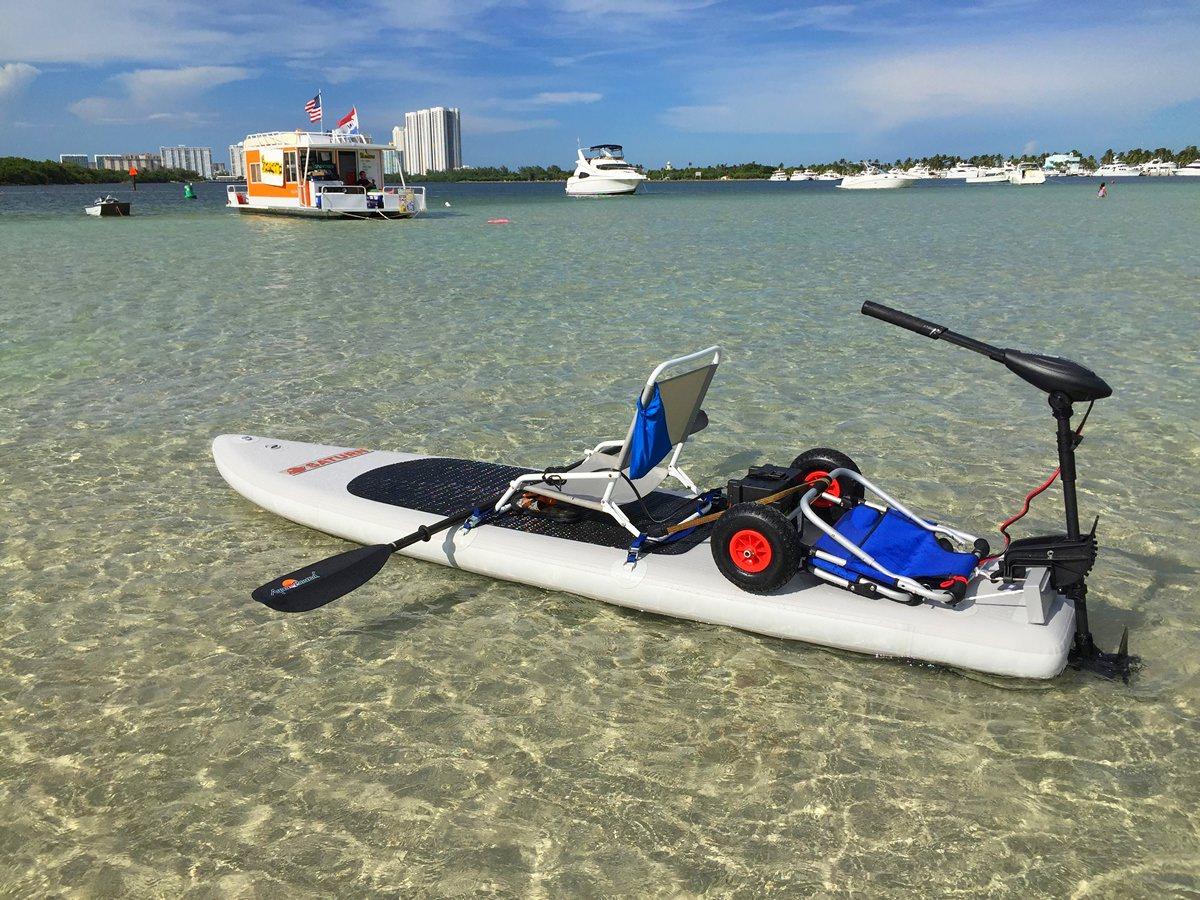 Motosup Motorized Inflatable Paddle Board Sup