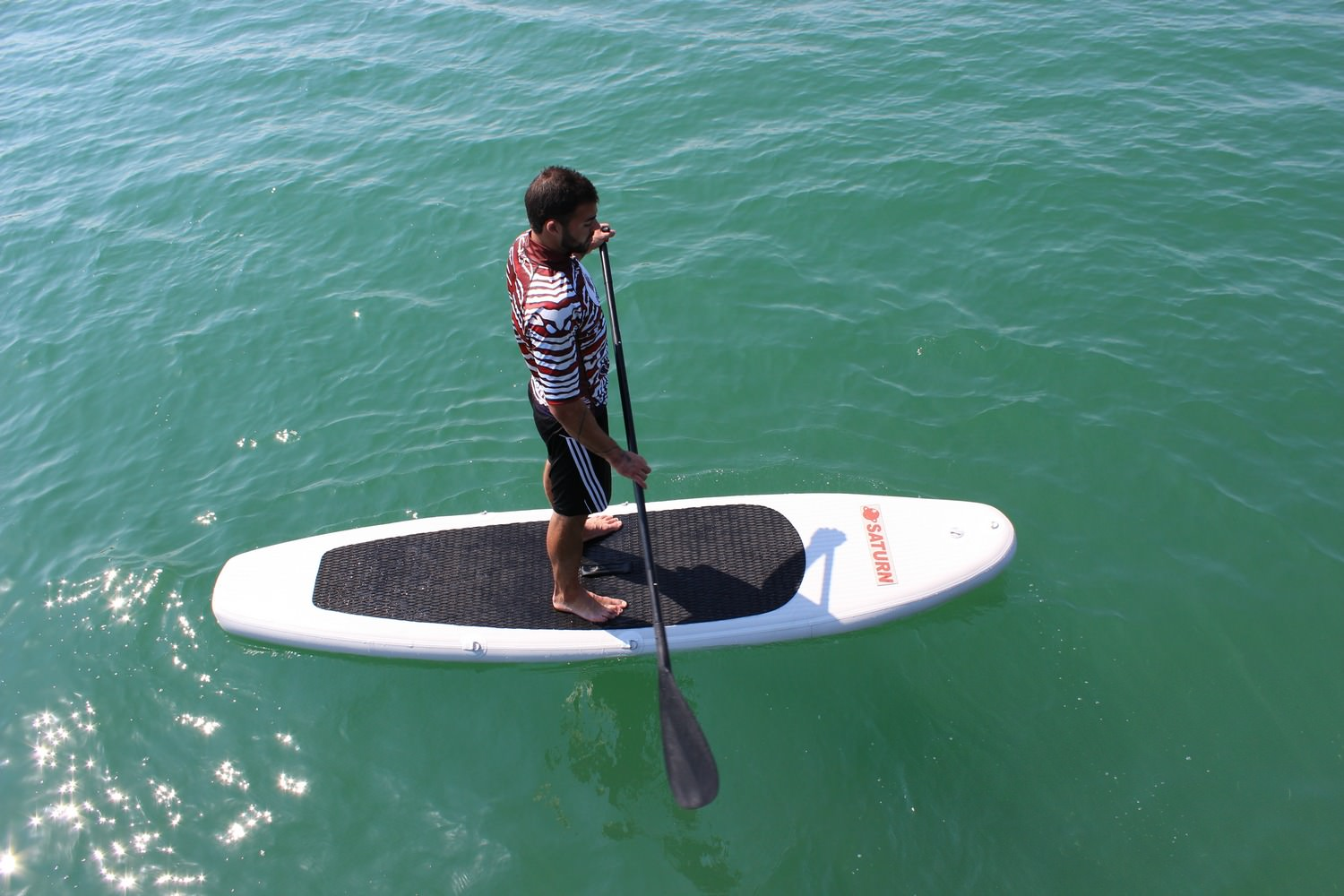 Saturn 11 Ultra Light Inflatable SUP Paddle Board ly $499