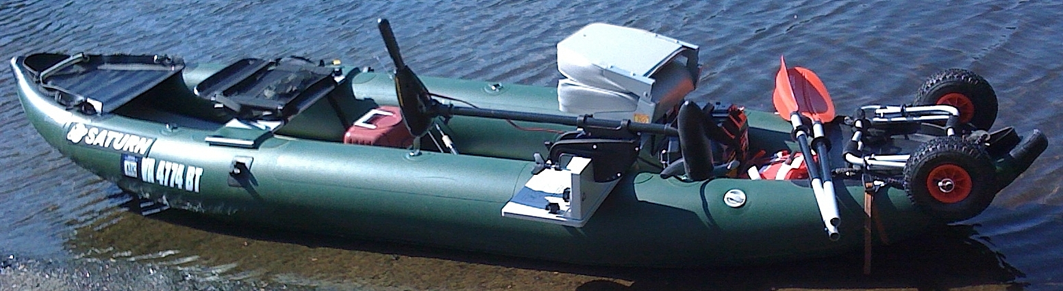 Real Fishing Machine! FK396 kayak set up by one of our customers.