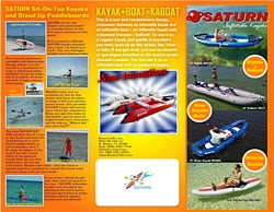 inflatable kayaks brochure page 1
