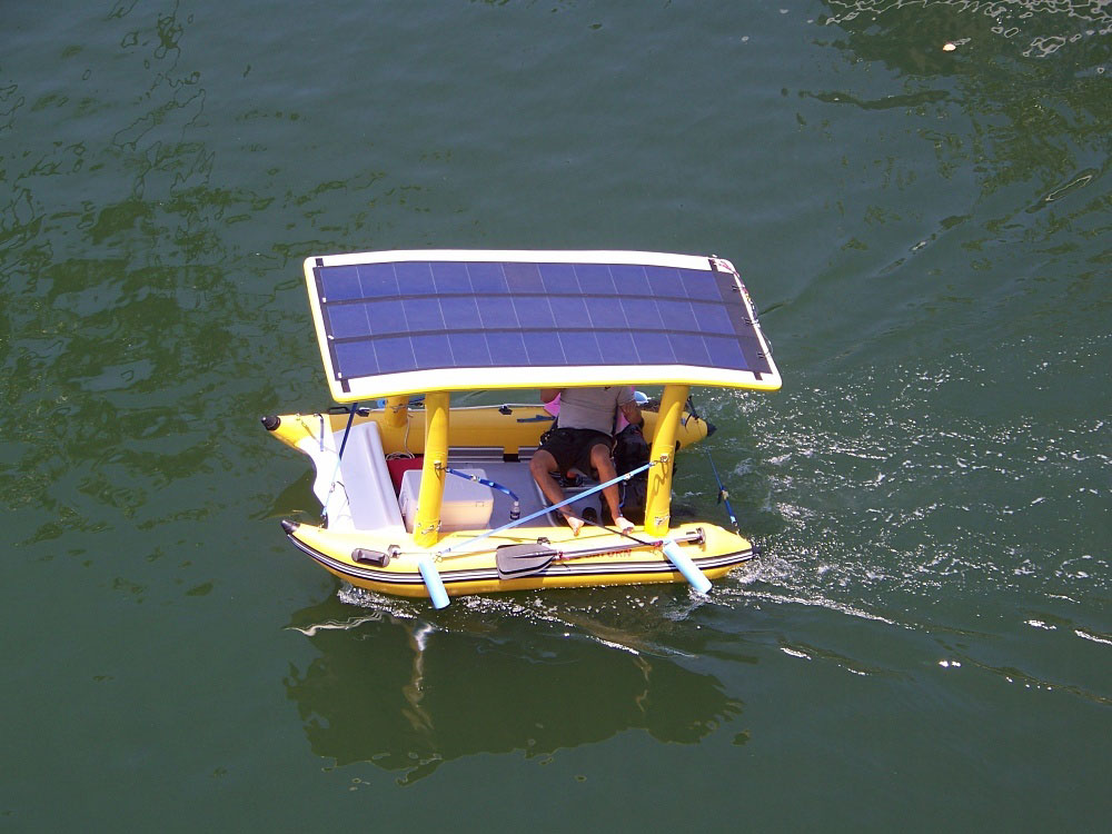 Solar Powered Inflatable Boats Clean Renewable Energy