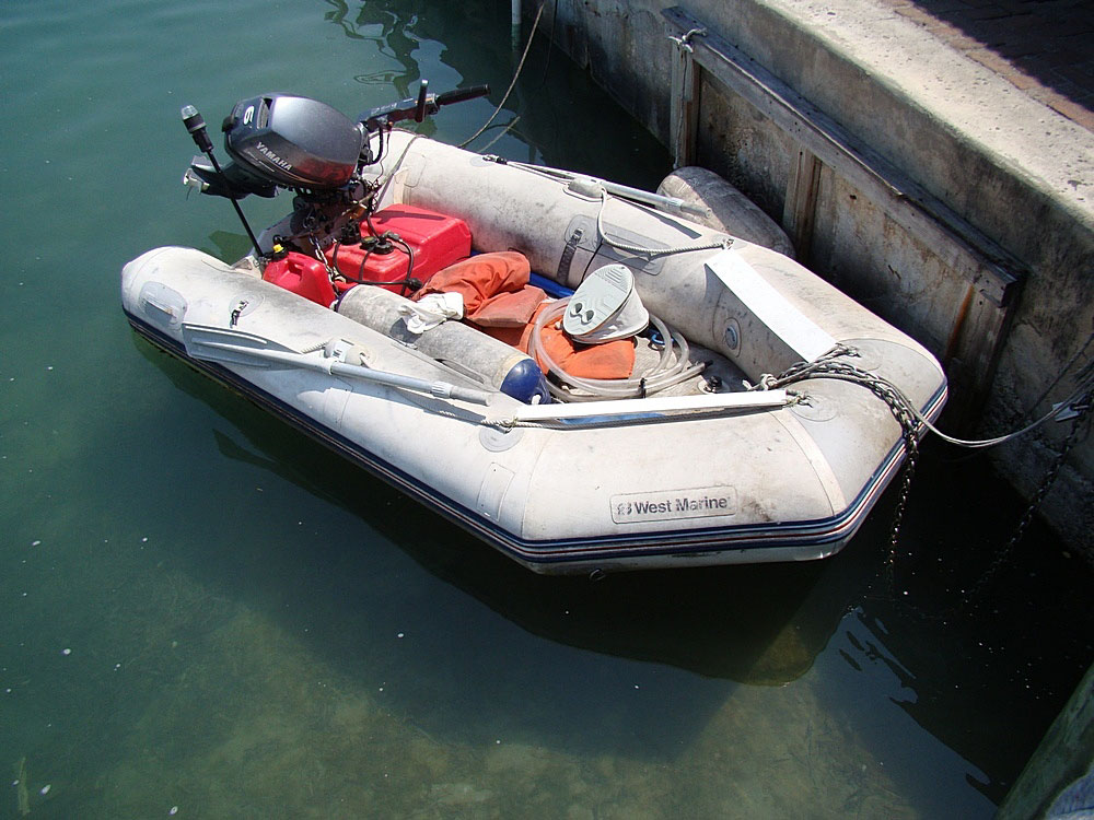 Compare PVC vs Hypalon fabric for inflatable boats, rafts