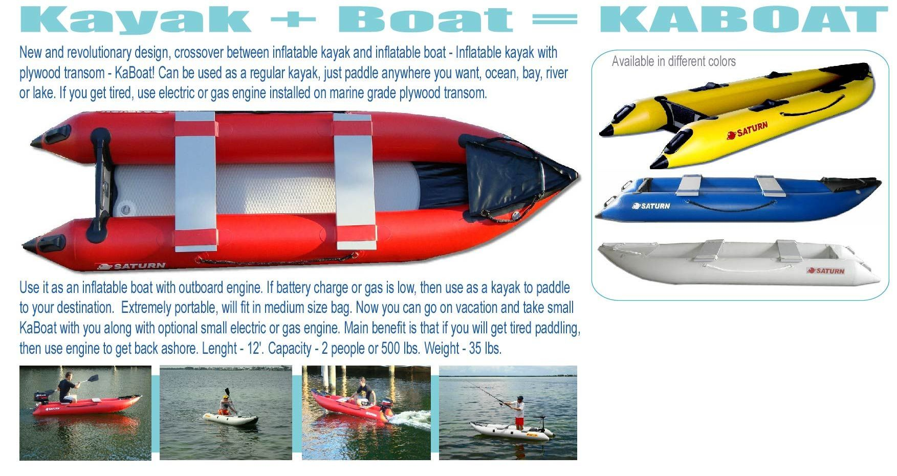 One of first KaBoat ads back from 2006