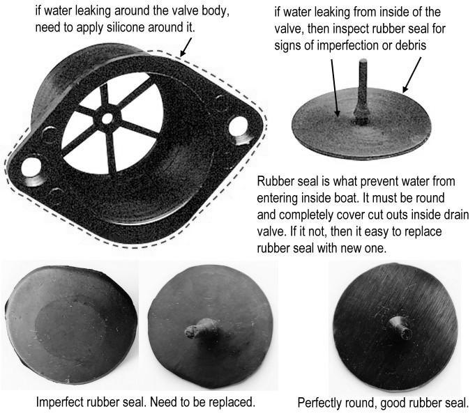 Click for drain valve fix
