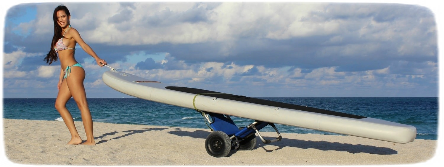 Kayak Cart / Beach Chair / Trolley for SUP, Kayaks and more