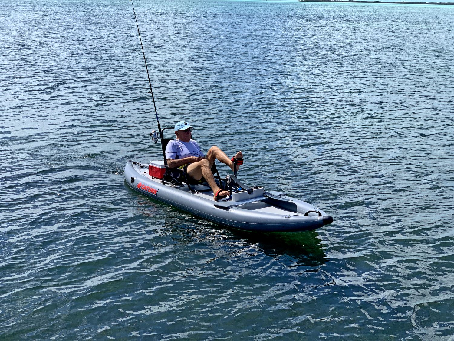 Inflatable Pedal Kayak From Saturn