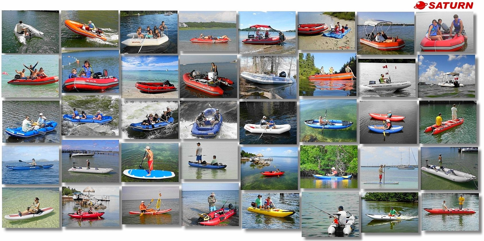 Saturn Inflatable Boats, Rafts and Kayaks Buyer's Guide