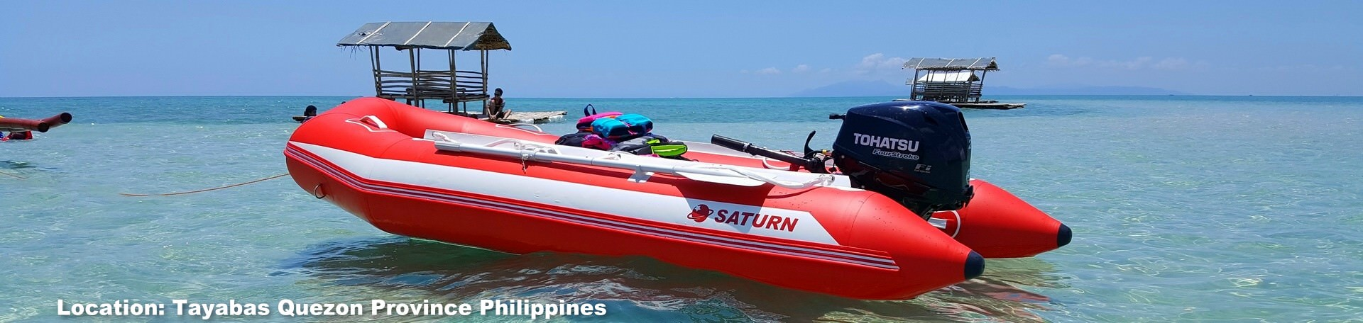 Customer's Picture of Saturn SD380 Inflatable Boat.