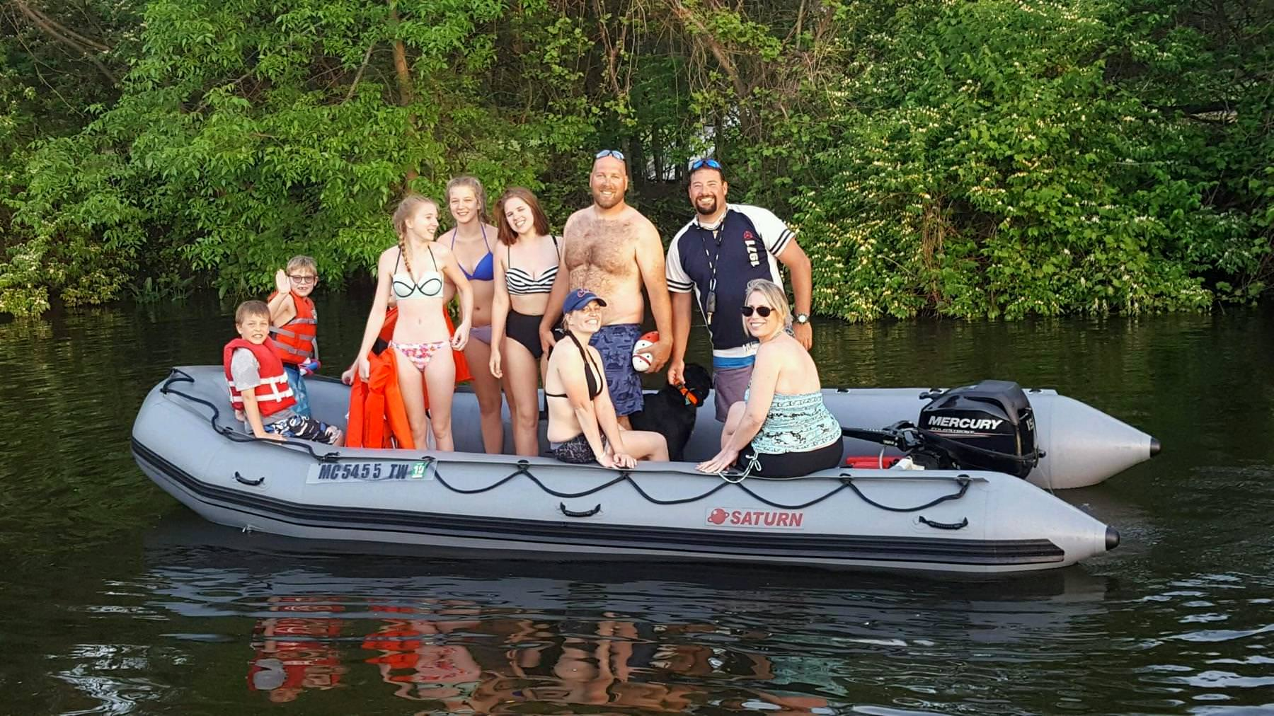 Saturn Inflatable Boat Sd518