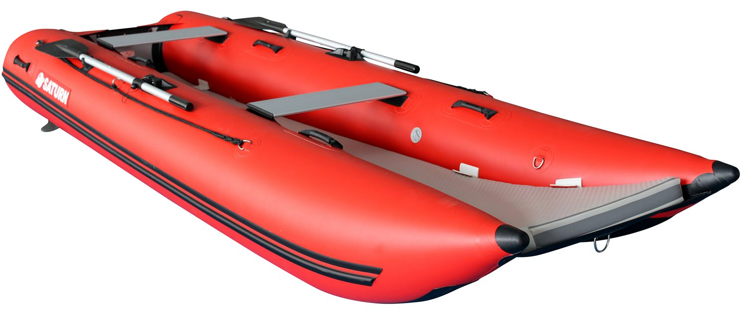 Inflatable Lightweight Catamaran Boat Nc330