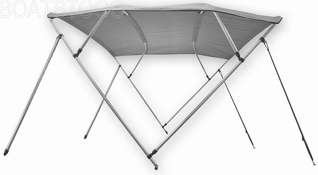 Folding 4 Bow Sun Shade Canopy Top For Inflatable Boats
