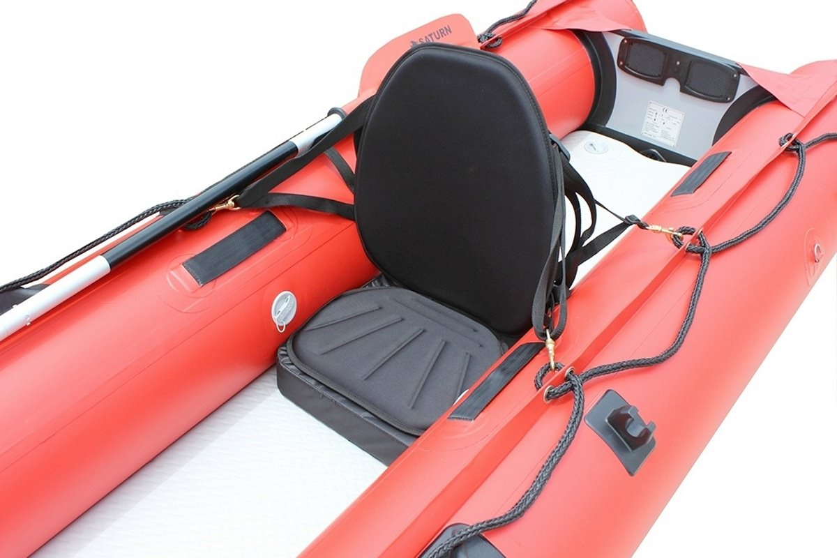 Inflatable Seat Cushion >> Extra High-Back Kayak Seats for Inflatable Kayaks and KaBoats