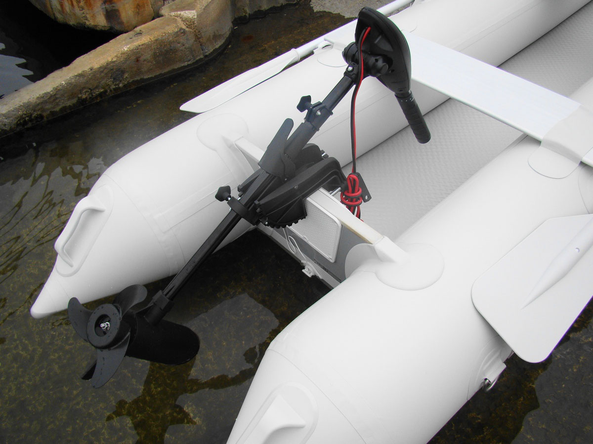 12 Volts 55 Lbs Electric  Outboard