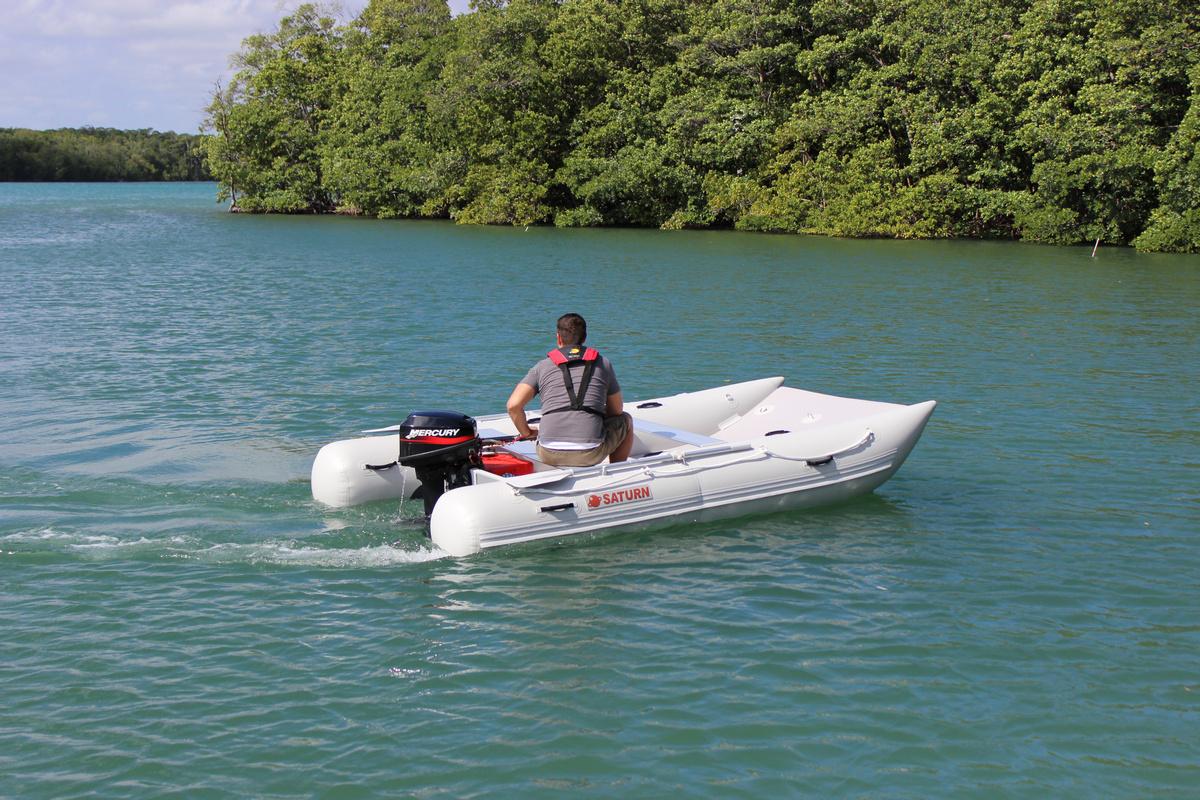 Saturn Inflatable Catamaran MC365