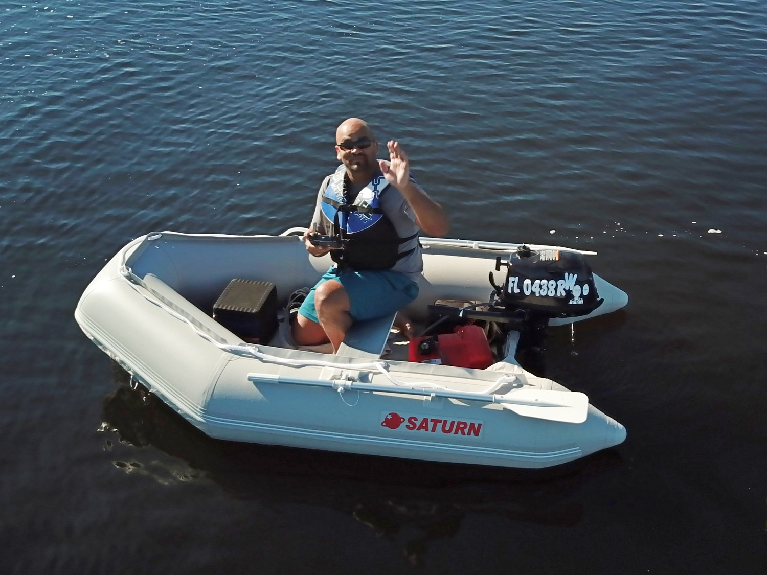 Saturn Inflatable Boats SD260