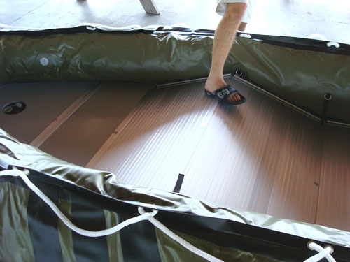 Assembly Of Aluminum Floor