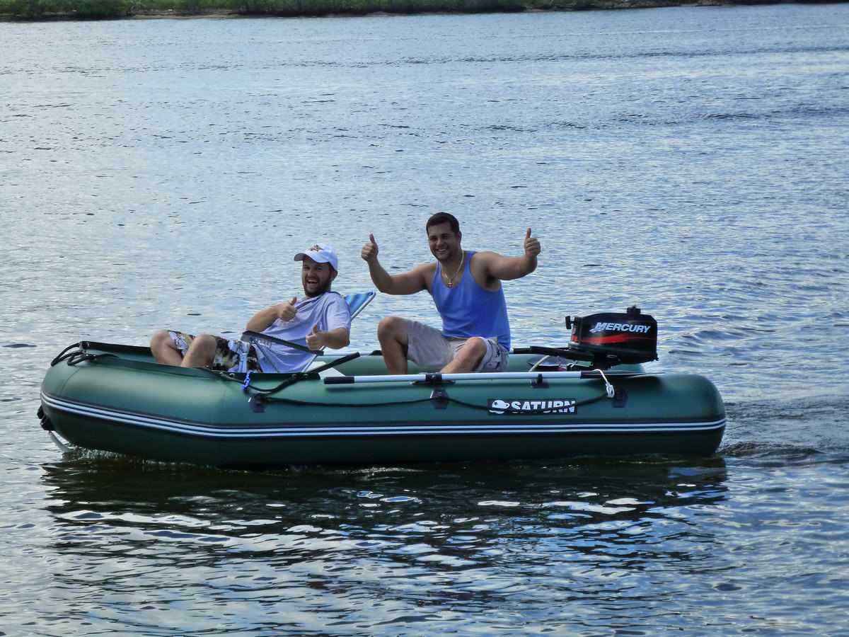 Saturn Inflatable Extra Wide Boat