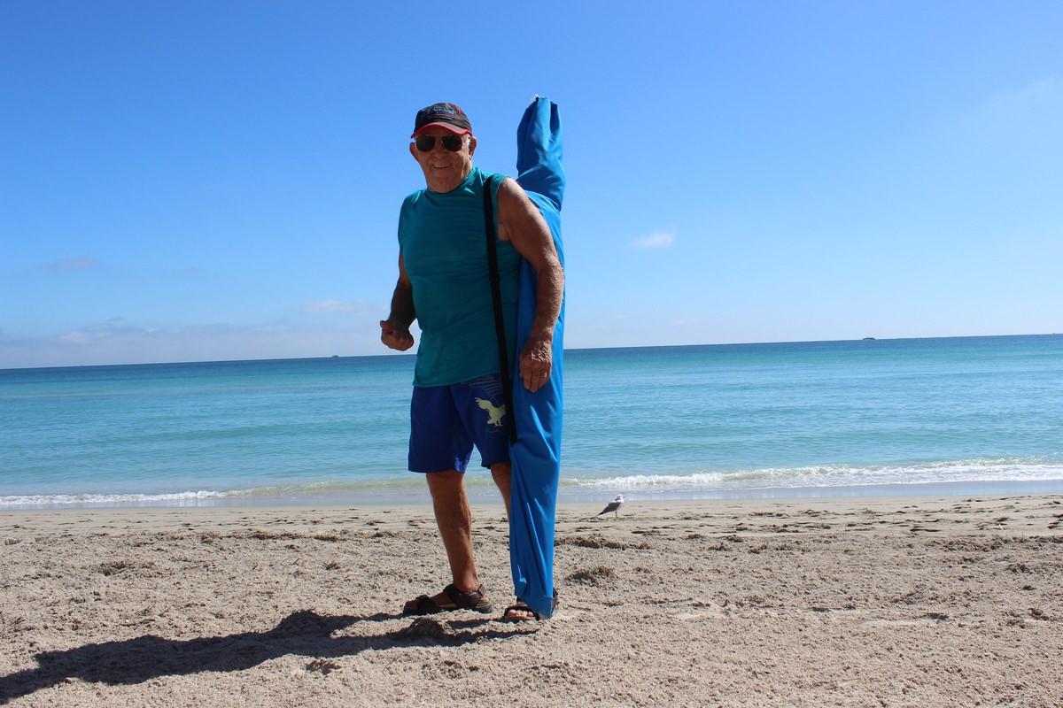 Beach Umbrella Cabana