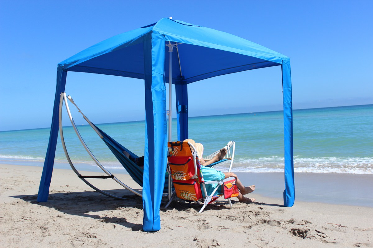 Beach Umbrella Cabana Tent Sun Shade Boat Bimini