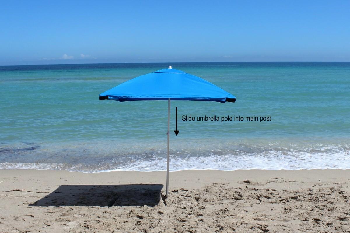 Umbrella Installation Steps
