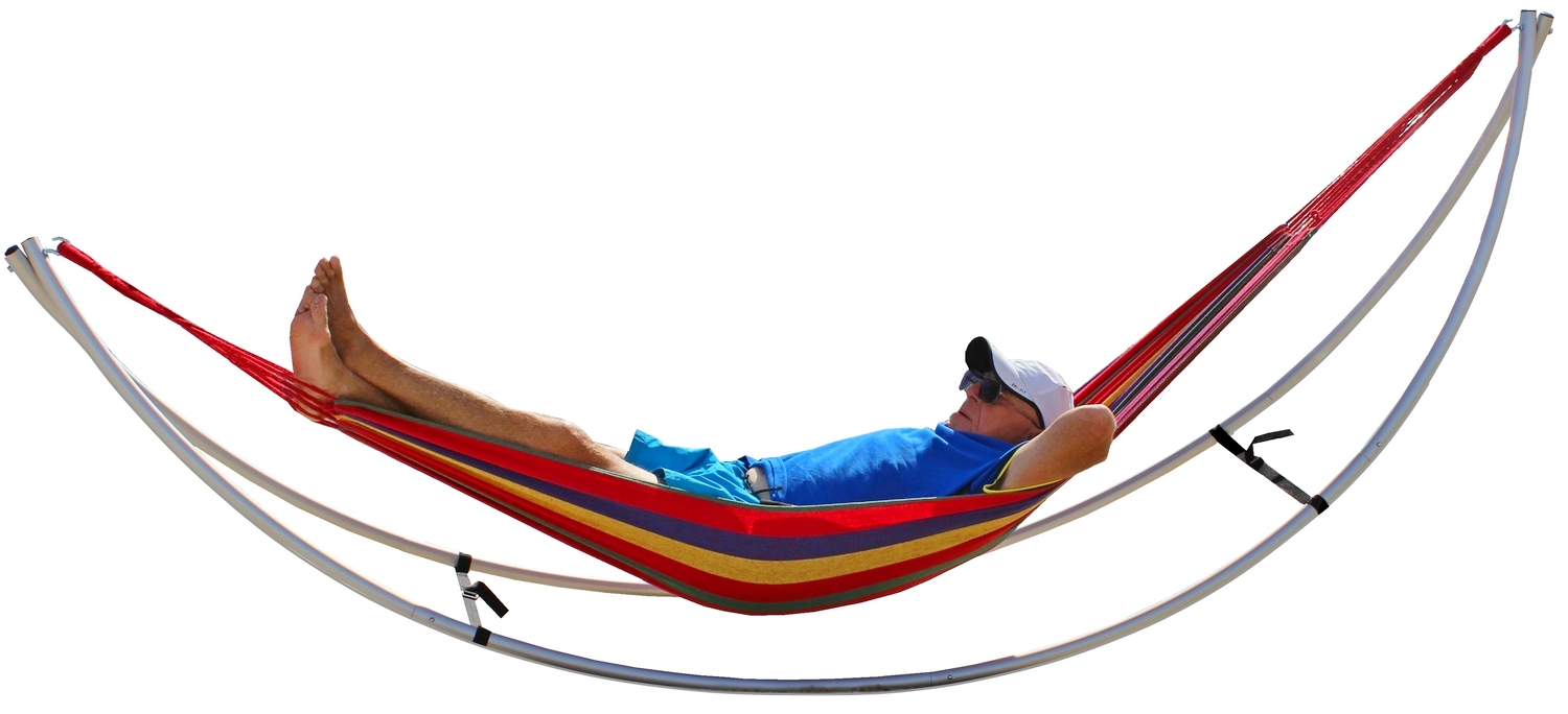 Demo Sale Folding Beach Hammock Portable Travel Hammock