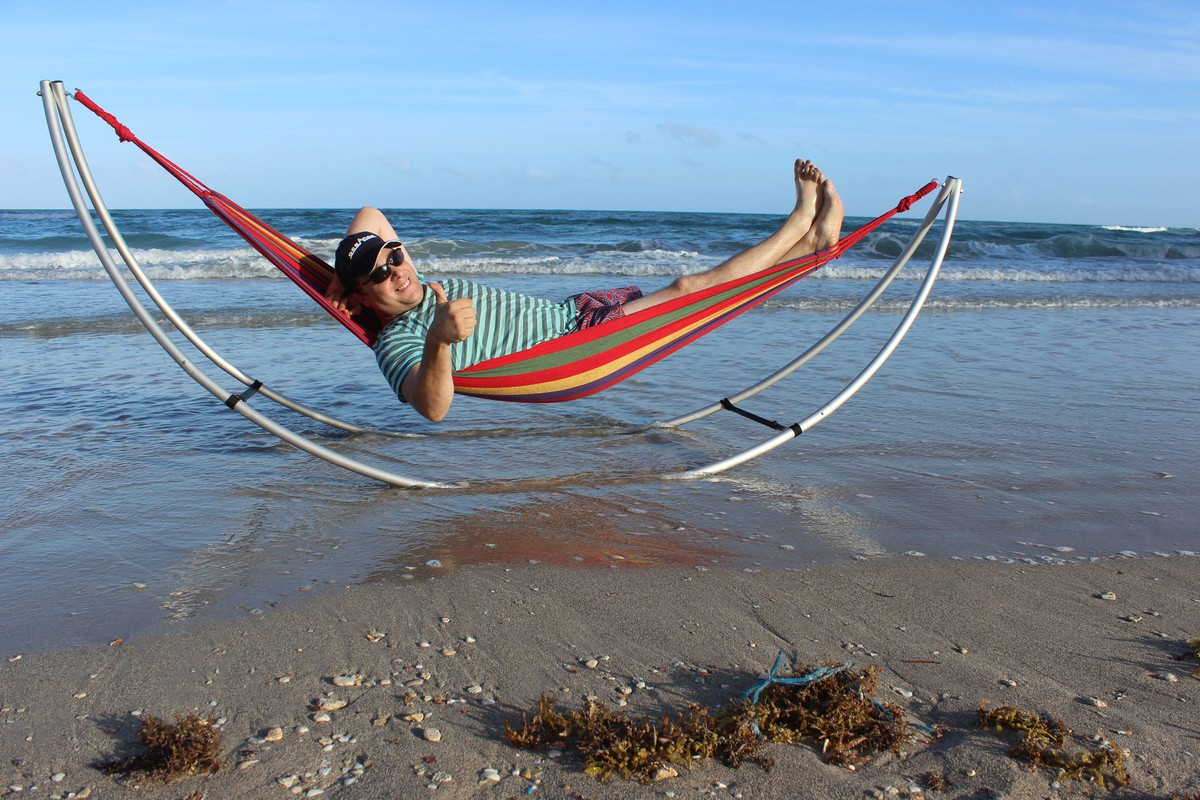 Folding Beach Hammock Standard