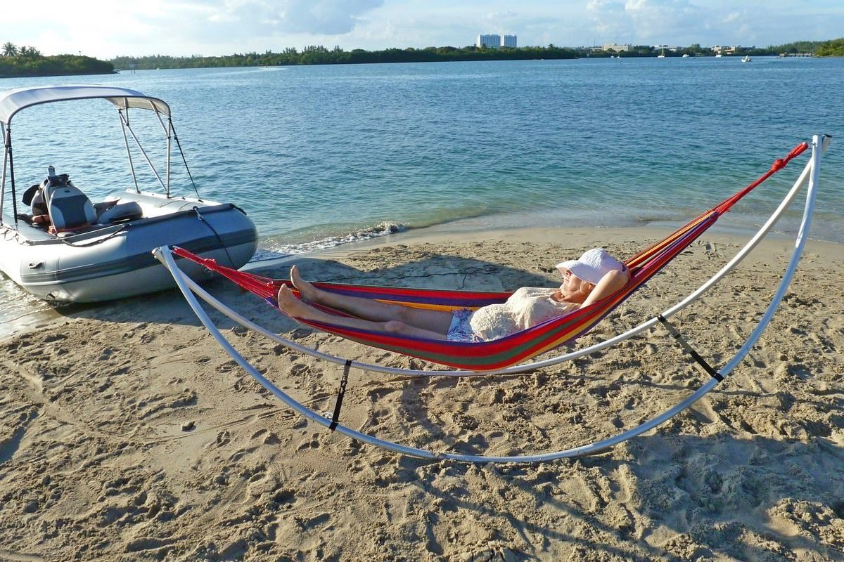 Folding Beach Hammock -Standard
