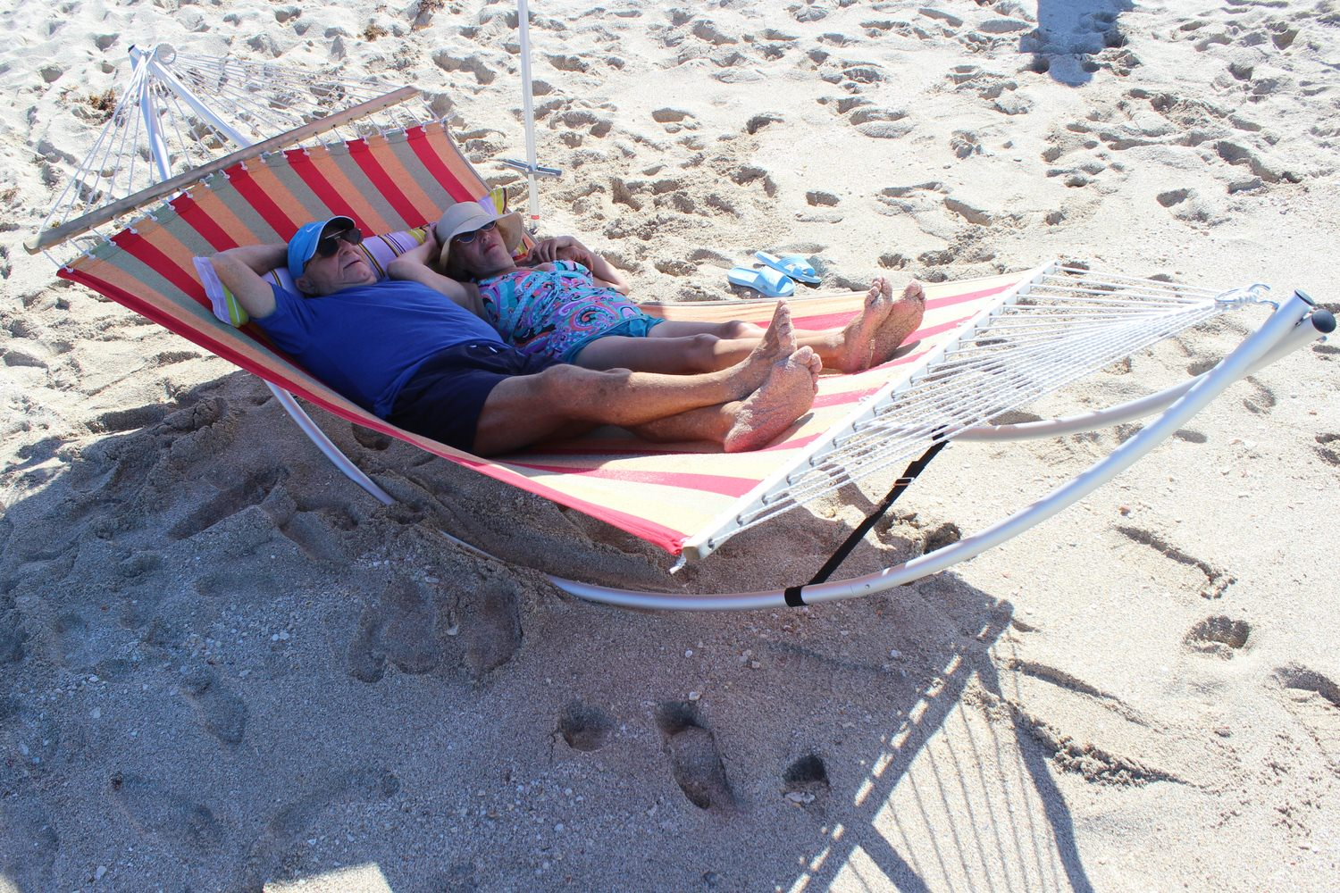 Folding Beach Hammock -XL model